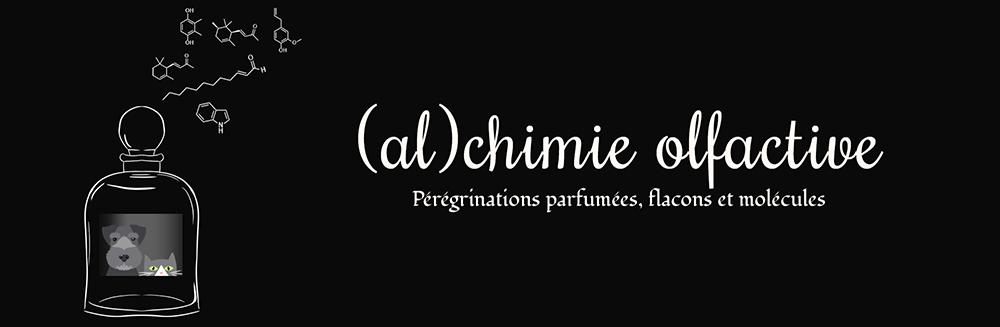 Alchimie Olfactive - Pérégrinations parfumées, flacons et molécules (et une pincée de science)