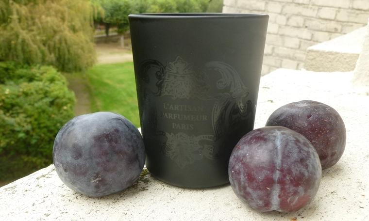 Bougie pour des prunes l'Artisan parfumeur