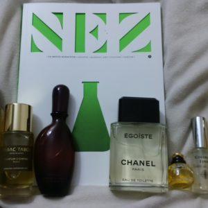 flacons parfums de la semaine